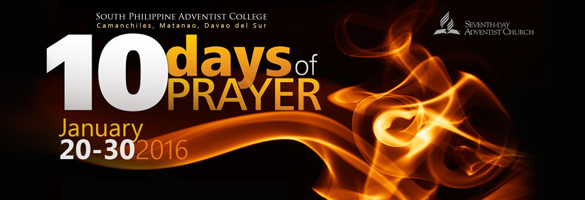 ten days of prayer web