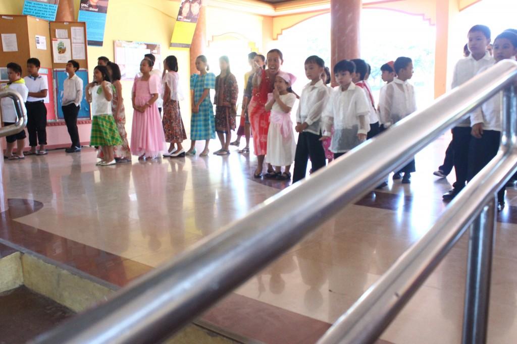 Elementary pupils highlight Buwan ng Wika today