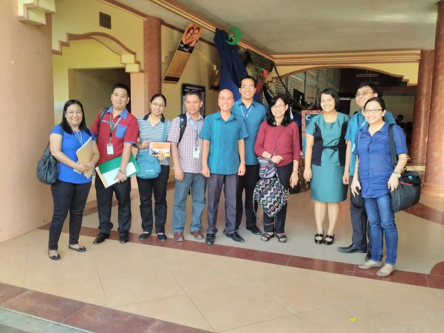 ADB Review Mission Team with SPAC Administrators