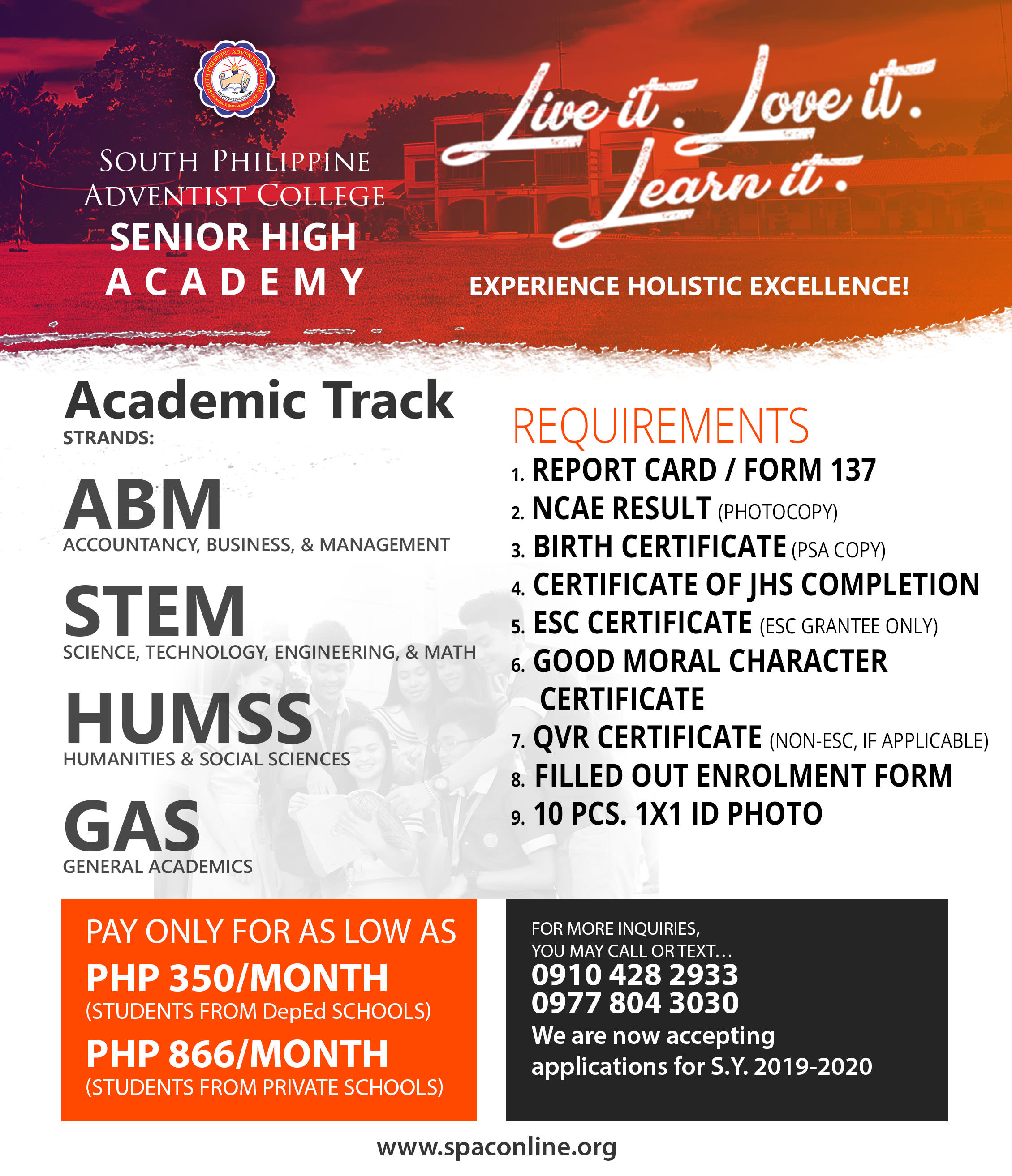 Experience Holistic Excellence